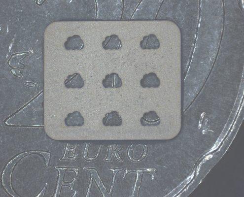 Laserfeinschneiden von technischer Keramik: Zirkonoxid