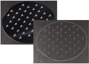 Waferbearbeitung: Siliziumwafer strukturieren und bohren (Through Silicon VIAS); Glaswafer bohren (Through Glass VIAS)