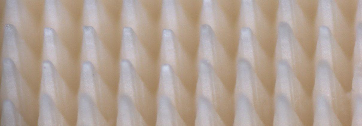 Oberflächenstrukturierung von Keramik