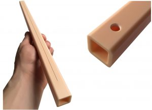 Laserschneiden und Laserbohren von Keramik Vierkantrohr